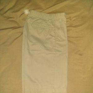 Boys khaki shorts sz 16 school uniform Old Navy